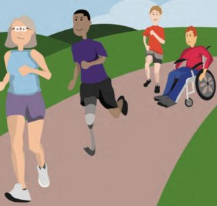 disability rights uk being active