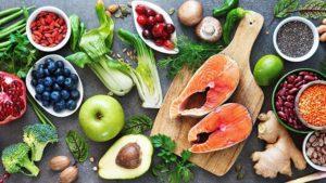 food eaten as part of Mediterranean diet