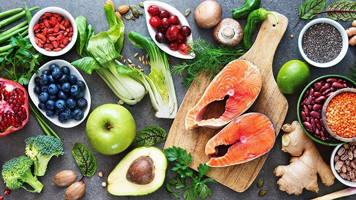 food eaten as part of Mediterranean diet