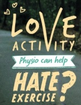 CSP Love activity hate exercise campaign