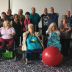 beneficiaries at a thalidomide trust fit for the future event focusing on keeping active