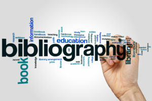 research bibliography word map