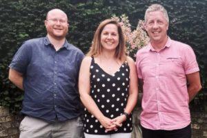 Thalidomide Trust Finance team members