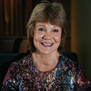 Thalidomide Trust NAC member Carolyn Desforges