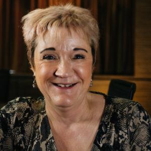 Thalidomide Trust NAC member Maggie Boyd