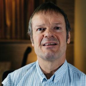 Thalidomide Trust NAC member Graham Kelly