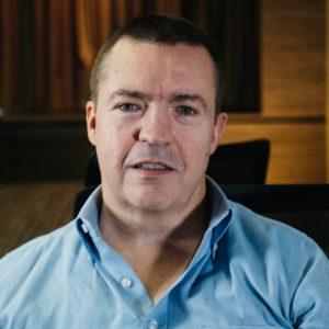 Thalidomide Trust NAC member Karl Davies