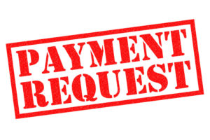 payment request stamp
