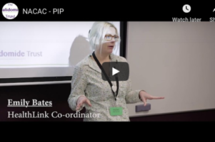 Thalidomide Trust PIP Workshop Video