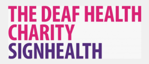 SignHealth charity logo