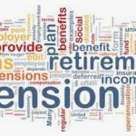 Pensions retirememnt word cloud