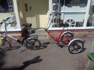 Nic's bike