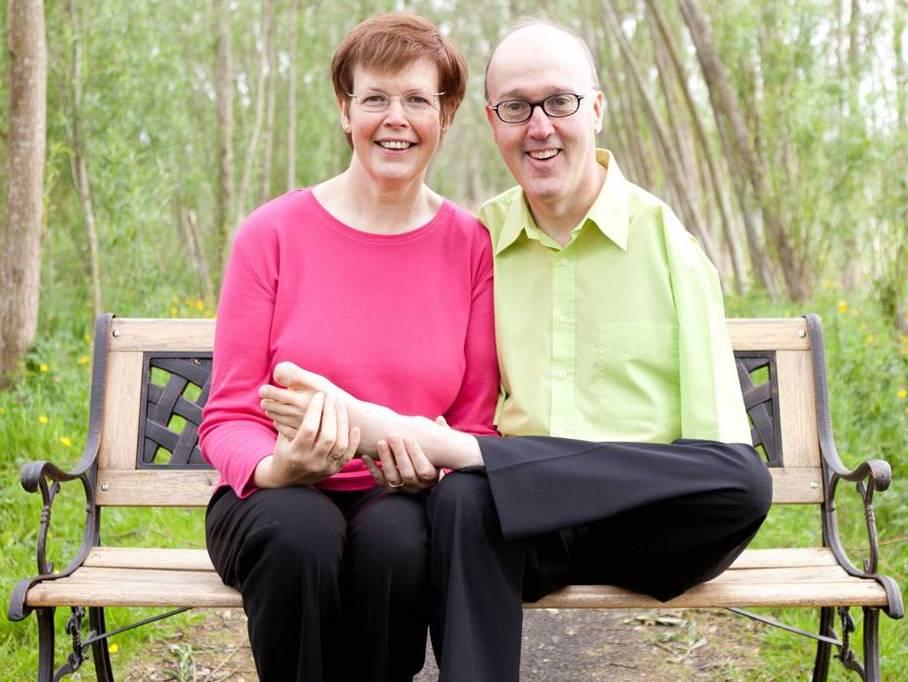 Brian and May Gault