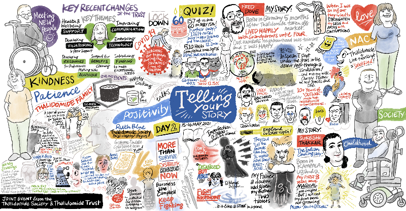 telling your story joint event graphic