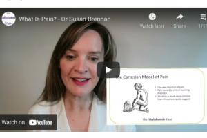 Dr Susan Brennan pain management video