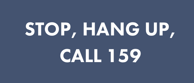 Stop Hang Up Call 159 UK Campaign from Stop Scams UK